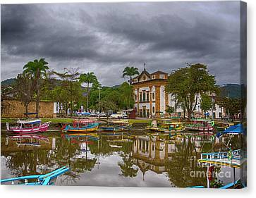 Colonial Town Of Paraty Canvas Print