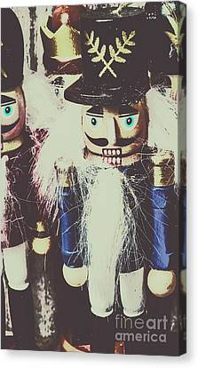 Handcrafted Canvas Print - Colonial Toys by Jorgo Photography - Wall Art Gallery