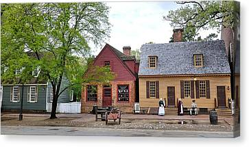 Colonial Man Canvas Print - Colonial Williamsburg 9 by Todd Hostetter