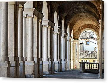 Colonnade  Canvas Print by Bill Mock