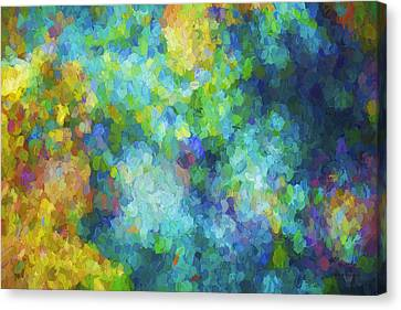 Color Abstraction Xliv Canvas Print