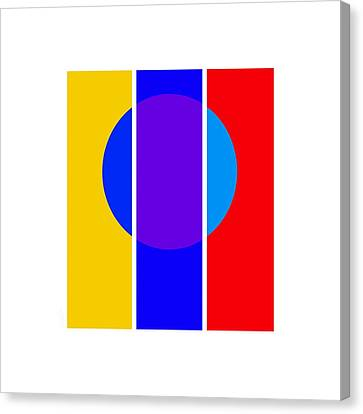 Color And Form Canvas Print by Charles Stuart