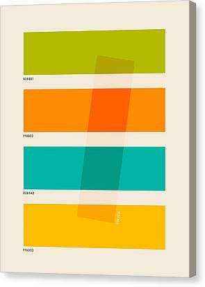 Color Burn 2 Canvas Print