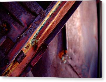 Canvas Print featuring the photograph Color Burst.. by Al Swasey