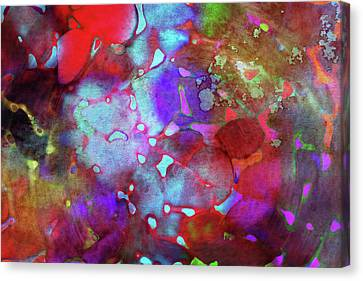 Color Burst Canvas Print by AugenWerk Susann Serfezi