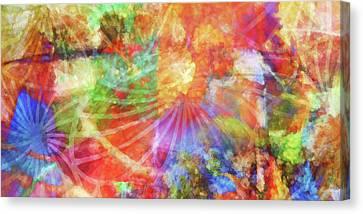 Color Festival Canvas Print by Lutz Baar