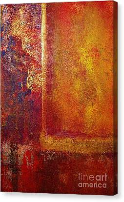 Color Fields Canvas Print by Philip Bowman