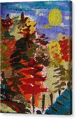 Color Forest Canvas Print