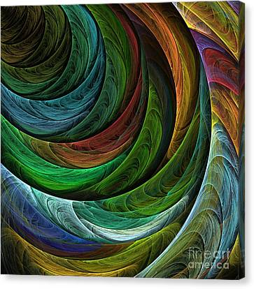 Color Glory Canvas Print by Oni H
