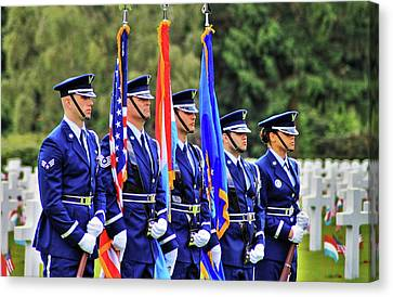 Color Guard Canvas Print by Daniel Koglin