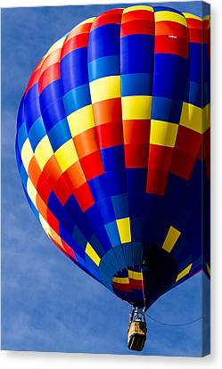 Inflatable Canvas Print - Color High In The Sky by Teri Virbickis