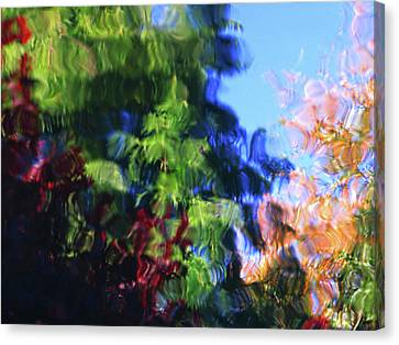 Color In Motion Canvas Print