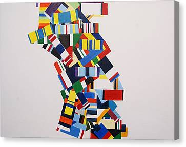 Color Linked To Personality Canvas Print