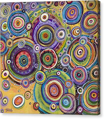 Color Me Happy Canvas Print by Tanielle Childers