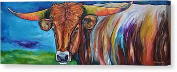 Color Me Texas Canvas Print by Patti Schermerhorn
