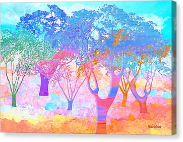 Color My World Canvas Print