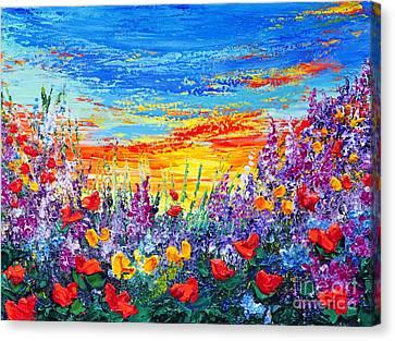 Color My World Canvas Print by Teresa Wegrzyn