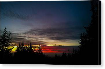 Color Of Dusk Canvas Print