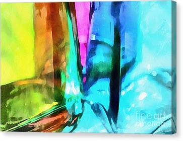Color Of Imagination Canvas Print by Krissy Katsimbras