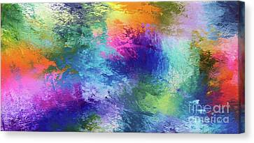 Color Of My Soul Canvas Print by Jo Ann Bossems