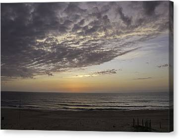 Color On The Horizon Canvas Print by Teresa Mucha