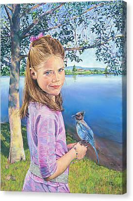 Color Personified - Blue Canvas Print