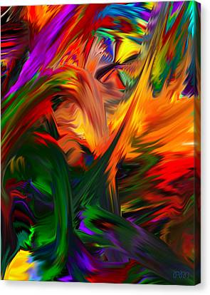 Color Reality B4 Canvas Print