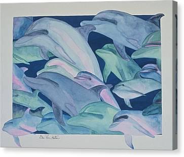 Color Rhythms Canvas Print