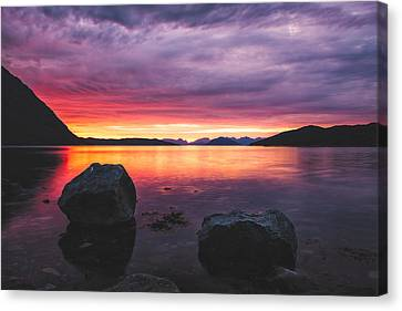 Color Rocks Canvas Print by Tor-Ivar Naess