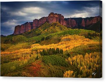 Canvas Print - Color Rush by Peter Coskun
