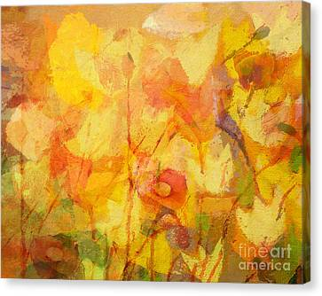 Color Sinfonia Canvas Print by Lutz Baar