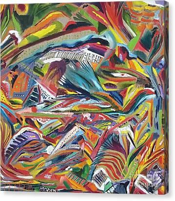 Color Soup Canvas Print