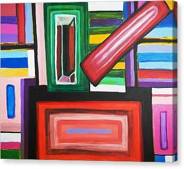 Color Squares Canvas Print by Jose Rojas