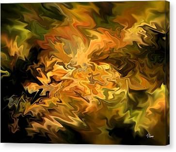 Color Storm Canvas Print by Tom Romeo