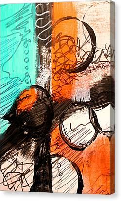 Color Swatch 1 Canvas Print by Nancy Merkle