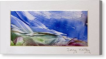 Color Waves Canvas Print