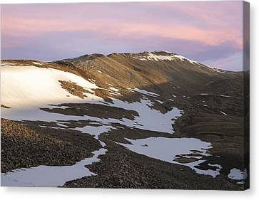 Colorado 14er Mt. Sherman Canvas Print by Aaron Spong