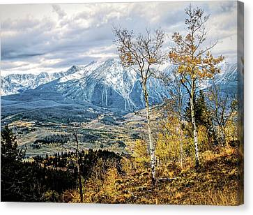 Canvas Print featuring the photograph Colorado Autumn by Jim Hill