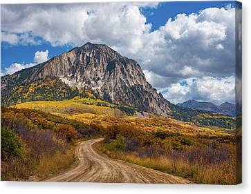 Colorado Backroads Canvas Print by Darren White