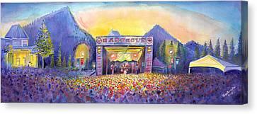 Colorado Bbq Challenge Frisco Canvas Print by David Sockrider