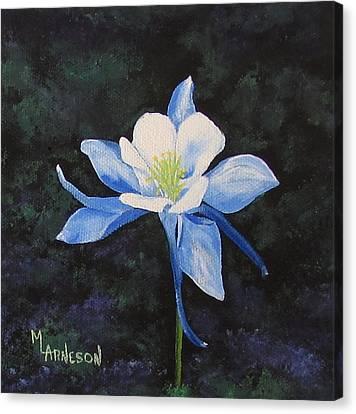 Colorado Blue Canvas Print by Mary Arneson