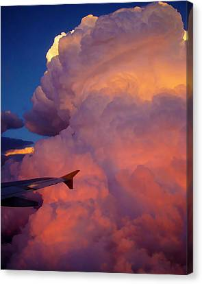 Colorado Cloud Canvas Print by Gina Cordova