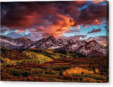 Colorado Color Canvas Print by Andrew Soundarajan