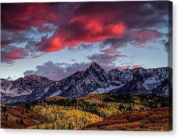 Colorado Colors Canvas Print by Andrew Soundarajan