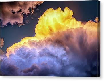Colorado Cumulus Face Cloud Canvas Print