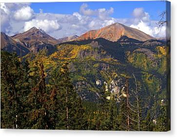 Colorado Fall Canvas Print by Marty Koch
