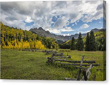 Colorado Fall Time Canvas Print