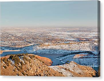 Colorado Front Range And Plains Canvas Print