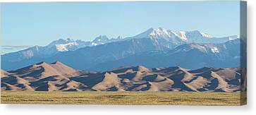 Colorado Great Sand Dunes Panorama Pt 1 Canvas Print by James BO Insogna