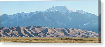 Colorado Great Sand Dunes Panorama Pt 2 Canvas Print by James BO Insogna